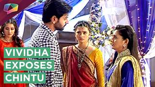 Vividha Exposes Chintu's truth   Jana Na Dil Se Door   Star Plus