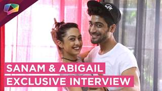 Sanam and Abigail talk about their Love Story and Nach Baliye | Nach Baliye 8 | Star Plus