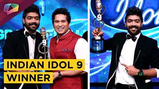 L V Revanth WINS Indian Idol 9 TROPHY | Indian Idol 9 | Sony Television