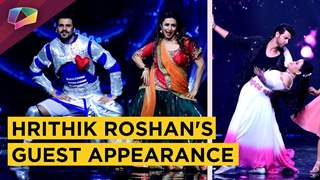 Hrithik Roshan Shakes his Leg with NACH LADIES | Nach Baliye 8 | Star Plus