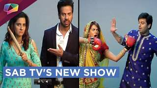 Photoshoot of Sab Tv's NEW SHOW TV Biwi aur Main | Sab Tv
