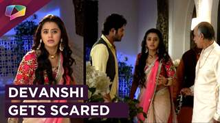 Devanshi Gets Scared | Vardaan Clams Her Down | Devanshi | Colors Tv