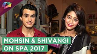 Mohsin Khan And Shivangi Joshi Talk About Their Performances At Star Parivaar Awards 2017