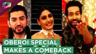 Ishqbaaaz And Dil Bole Oberoi Actors Share Their Excitement With Fans | TRP Comeback