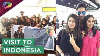 Yeh Hai Mohobatein's Cast Visit To Indonesia | Divyanka's Special Message | Star Plus
