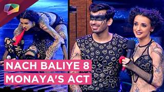 Mohit And Sanaya's Dramatic Horror Act | Nach Baliye 8 | Star Plus
