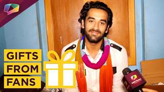 Vishal Vashishtha Receives Gift From His Fan | Gift Segment | India Forums