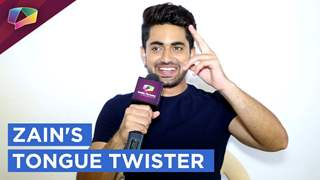 Zain Imam Twists His Tongue With India Forums | Exclusive | India Forums