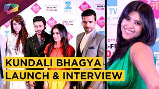 Ekta Kapoor And Anjum Phaki Talk About The Plot Of Kundali Bhagya At The Launch | Zee Tv