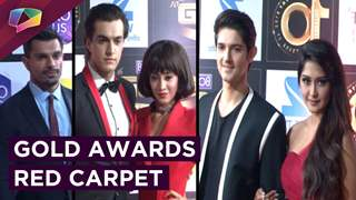Zee Tv's Gold Awards Full Star Studded Red Carpet Event