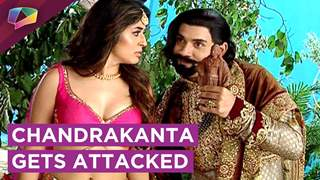 Chandrakanta Gets Attacked By Krur Singh And Shivdutt | Prem Ya Paheli Chandrakanta