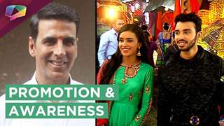 Akshay Kumar Promotes His Movie On The Sets Of Ek Shringaar Swabhimaan | Colors Tv