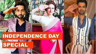 Television Celebrities Come Together To Salute Our Nation | Happy Independence Day