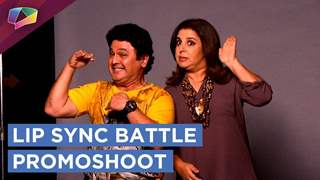 Ali Asgar And Farah Khan's New Show Lip Sync Battle Promoshoot