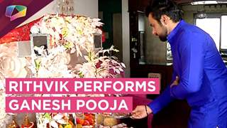 Rithvik Dhanjani Performs Ganesh Pooja | Ganesh Chaturthi Special