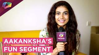 Aakanksha Singh Takes Up Our Aagey Kua Piche Khai Segment | EXCLUSIVE