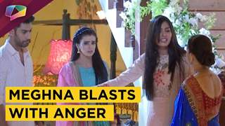 Meghna Blasts With Anger | Naina and Kunal Calm Her | Ek Shringaar Swabhimaan