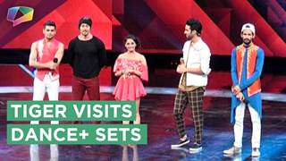 Tiger Shroff Has Unlimited Fun On The Sets Of Dance Plus 3