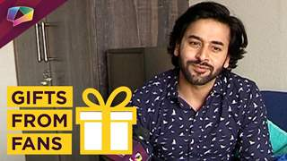 Shashank Vyas Receives Gifts From His Fans | Exclusive