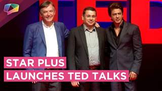 Star Plus Launches TED Talks | Shahrukh Khan Talks About Hosting The Show