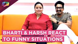 Bharti Singh And Harsh Limbhachiya React To Funny Situations | Fun Segment