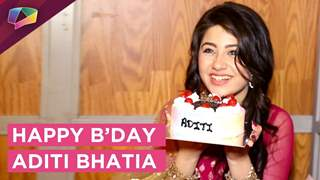 Aditi Bhatia Aka Ruhi Celebrates Her Birthday With India Forums | Yeh Hai Mohobatein | Star Plus