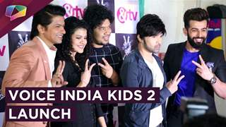 &Tv Launches Voice India Kids 2 | Jay Bhanushali Exclusive Interview