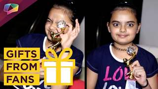 Ruhanika Dhawan Aka Pihu From Yeh Hai Mohobatein Receives Gifts From Her Fans