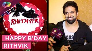 Rithvik Dhanjani Celebrates His Birthday With His Team And India Forums | Exclusive