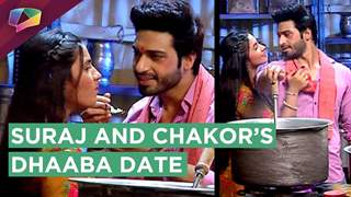What are Suraj and Chakor doing in the Dhaba's Kitchen?