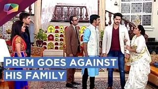 Prem goes against his family and brings Mandhira home