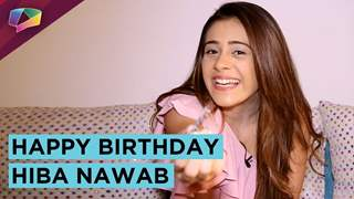 Hiba Nawab Celebrates Her Birthday Exclusively With India Forums