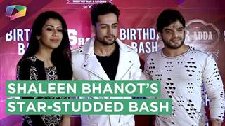 SHALEEN BHANOT CELEBRATES HIS BIRTHDAY IN THE PRESENCE OF MANY CELEBRITIES