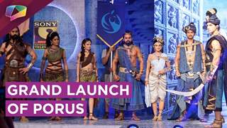 Watch The Grand Launch Of India's First Global Series Porus