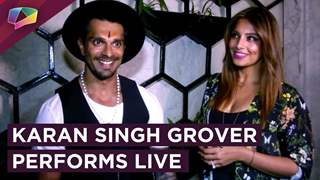 Karan Singh Grover Performs A Live Gig With His Friend