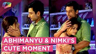 Abhimanyu And Nimki Share A Cute Moment | Nimki Mukhiya | Star Bharat