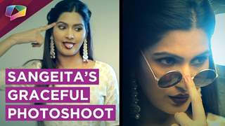 Sangeita Chauhan's Beautiful Photoshoot With The Label Rose