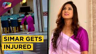 Simar Slips On The Floor While Stopping The Thief | Sasural Simar Ka | Colors Tv