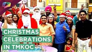 Tarak Mehta Ka Oolta Chashma's Cast Celebrates Merry Christmas On Sets