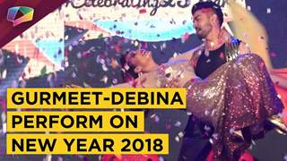 Gurmeet And Debina Give A Rocking Performance On New Year