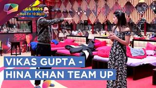 Vikas Gupta And Hina Khan Team Up For The Ticket To Finale Task