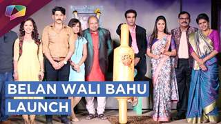 Krystle D'Souza And Dheeraj Sarna On The Launch Of Colors Tv Show Belan Wali Bahu