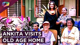 Ankita Lokhande Performs Her New Year Ritual By Visiting The Old Age Home
