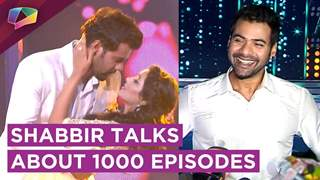 Abhi And Pragya's Dance | Shabbir Ahluwalia Talks About 1000 Episodes Of Kumkum Bhagya