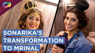 Sonarika Bhadoria Shares Her Make Up Tips | Transformation To Mrinal | Prithvi Vallabh | Sony Tv