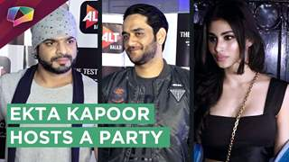 Ekta Kapoor Host A Party At The Test Case's Screening | Alt Balaji | Vikas, Rithvik, Mouni And More