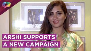Arshi Khan Supports A New Medical Campaign | New Projects, Valentines