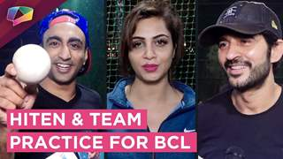 Hiten Tejwani Practices With Arshi & His Team For BCL 2018 And Shares Valentines Plans
