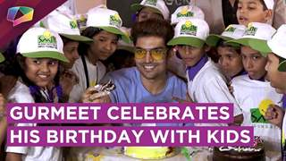 Gurmeet Chaudhary Celebrates His Birthday With Underprivileged Kids