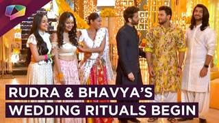 Rudra And Bhavya's Wedding Rituals Begin | Ishqbaaaz | Star Plus